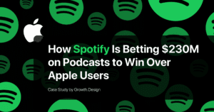 Thumbnail image of Spotify vs Apple: How Spotify is betting $230M on podcasts to win over Apple users (Ep. 1)