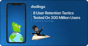 Thumbnail image of Duolingo's User Retention: 8 Tactics Tested On 300 Million Users