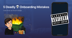Thumbnail image of 5 Deadly 💀 Onboarding Mistakes You Should Ban