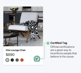 Example of certification social proof